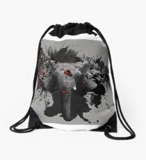 Ember Series Elephant Drawstring Bag