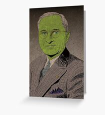 Truman-Goblin King Greeting Card