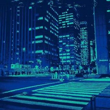Blue City by Drasis