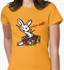 Voudou Bunny - Presents Women's Fitted T-Shirt