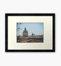 The Eternal City Framed Print