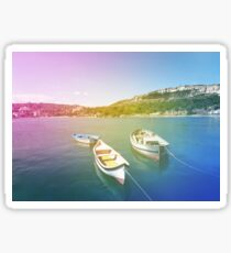 boats Sticker
