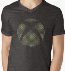 XBOX One Pattern Men's V-Neck T-Shirt