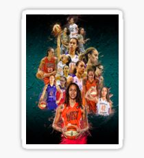 Brittney Griner (From Baylor to Phoenix Mercury +Team USA) Sticker