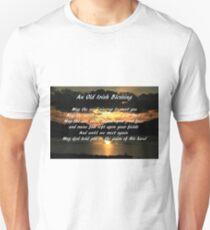 An old Irish Blessing #7 Unisex T-Shirt