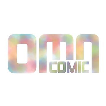 Colorful OMN Comic logo designs by OMNproducts