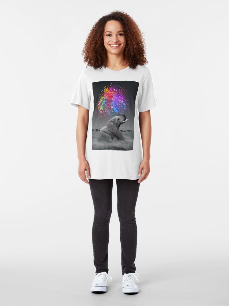 Alternative Ansicht von Wahre Farben innerhalb Slim Fit T-Shirt