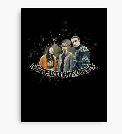 Best Dead Friends Forever || In The Flesh Canvas Print