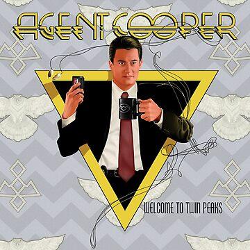 Agent Cooper by Mephias