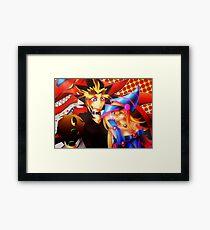 Thank you Yu-Gi-Oh! Framed Print