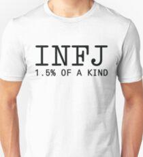 INFJ - 1.5% of a Kind Unisex T-Shirt