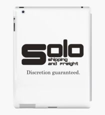 Solo Shipping and Freight iPad Case/Skin