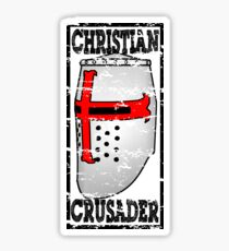 CHRISTIAN CRUSADER Sticker