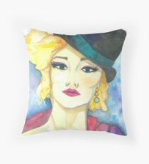Fedora Throw Pillow