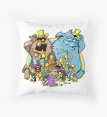 Together again, AGAIN! Throw Pillow