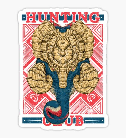 Hunting Club: Gammoth  Sticker