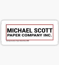 Michael Scott Paper Company Sticker