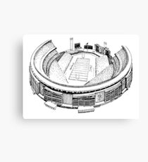 Shea Stadium - New York Jets/Mets Stadium Sketch Canvas Print