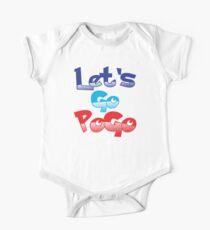 Let's go PoGo! One Piece - Short Sleeve