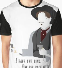 Tombstone: Two Guns Graphic T-Shirt