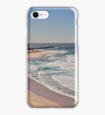 Nobbys Beach, Newcastle Australia iPhone Case/Skin
