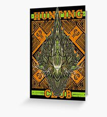 Hunting Club: Astalos Greeting Card