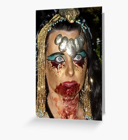 0733 Zombie  Greeting Card