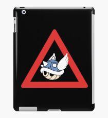 Danger Blue Shell iPad Case/Skin