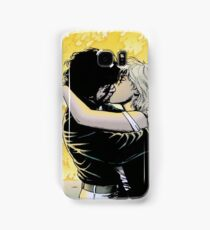 Tulip and Jesse from Preacher in fire Samsung Galaxy Case/Skin