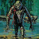 Swamp Creature by sashakeen