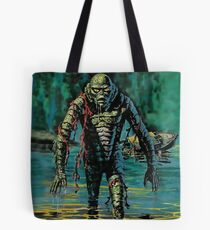 Swamp Creature Tote Bag