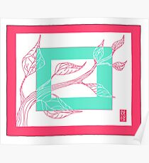 Spring Leaves Poster