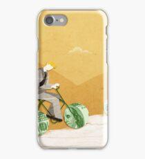 Three businessmen riding money bikes iPhone Case/Skin