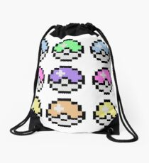 Pokemon Pastel Drawstring Bag