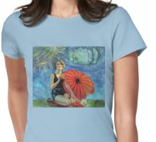 The Pause That Refreshes Womens Fitted T-Shirt