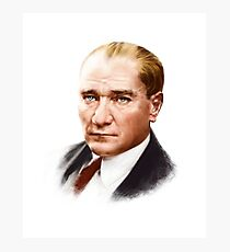 Mustafa Kemal Atatürk Photographic Print