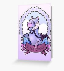 Hey There Hoth Stuff (Tauntaun) Greeting Card