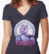 Hey There Hoth Stuff (Tauntaun) Women's Fitted V-Neck T-Shirt