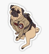 Pugbusters Sticker