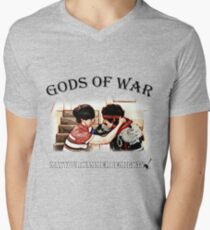 Gods of War - Hot Rod Men's V-Neck T-Shirt