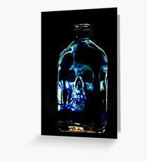 The Blue Bottle Greeting Card