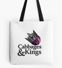Cabbages & Kings Podcast Tote Bag