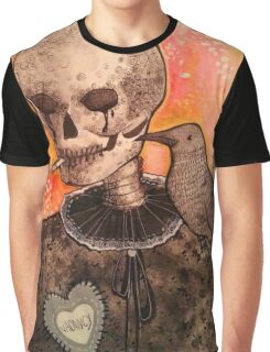 Skull and Raven  Graphic T-Shirt