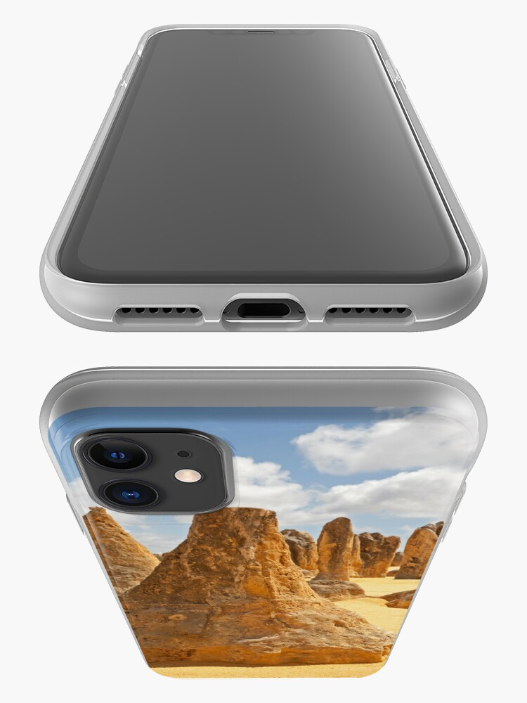 Alternate view of Pinnacles 'Volcano' in Western Australia iPhone Case & Cover