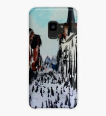 Chester Cityscape Urban Street Contemporary Acrylic Painting On Paper Case/Skin for Samsung Galaxy