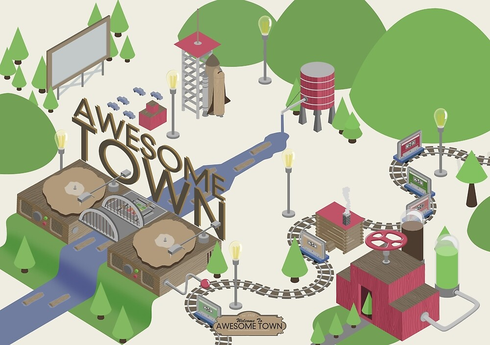 Awesome Town by Mallywood