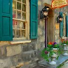 A Victorian Tea Room by Lois  Bryan