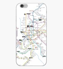 madrid subway 2016 iPhone Case