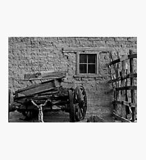 Mesilla Wagon Photographic Print