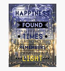 Happiness Can Be Found Photographic Print